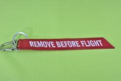 CHAVEIRO-REMOVE-BEFORE-FLIGHT